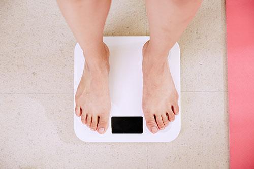 regular weighing maintain healthy weight